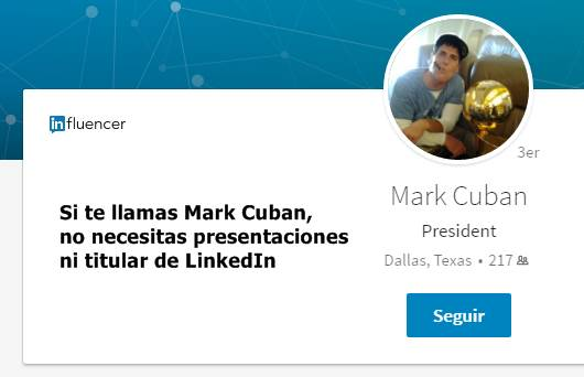 Optimizar un titular de LinkedIn
